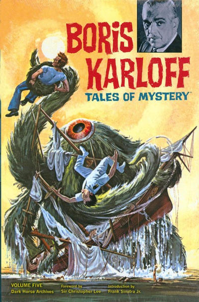Cover for Boris Karloff Tales of Mystery Archives (Dark Horse, 2009 series) #5