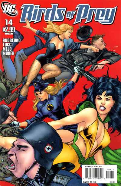 Cover for Birds of Prey (DC, 2010 series) #14
