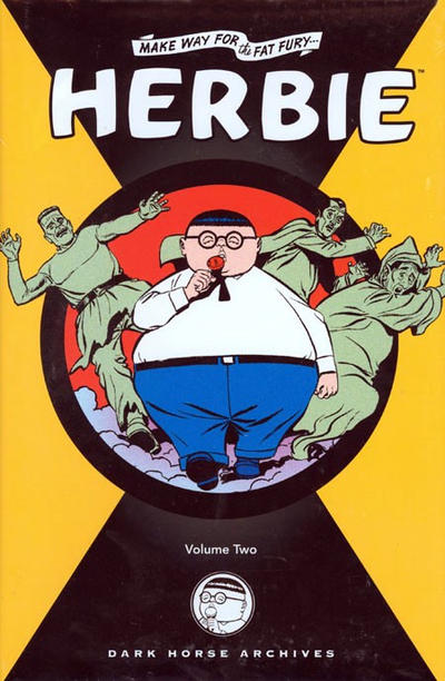 Cover for Herbie Archives (Dark Horse, 2008 series) #2