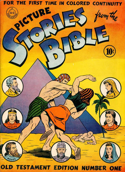 Cover for Picture Stories from the Bible Old Testament (DC, 1942 series) #1 [2nd]