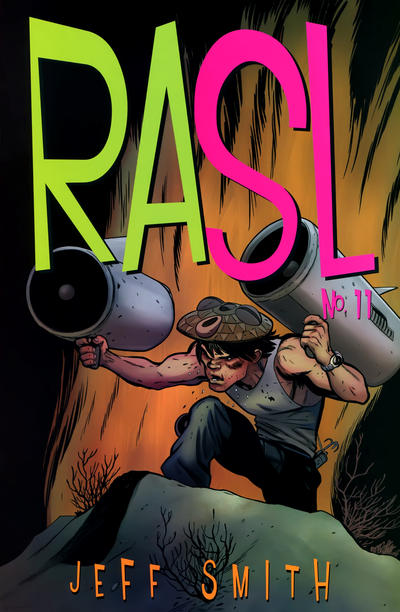 Cover for RASL (Cartoon Books, 2008 series) #11