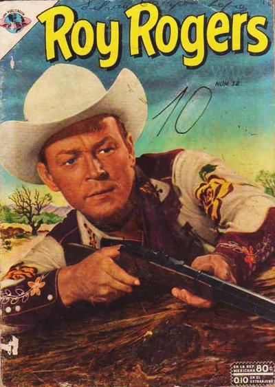 Cover for Roy Rogers (Editorial Novaro, 1952 series) #12
