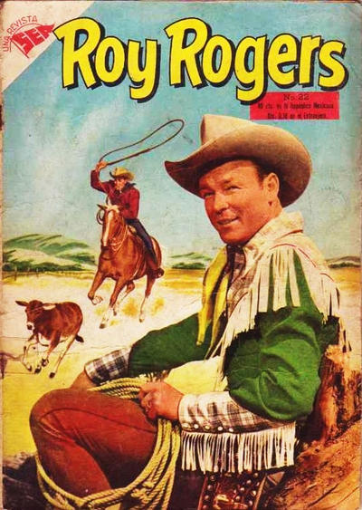Cover for Roy Rogers (Editorial Novaro, 1952 series) #22