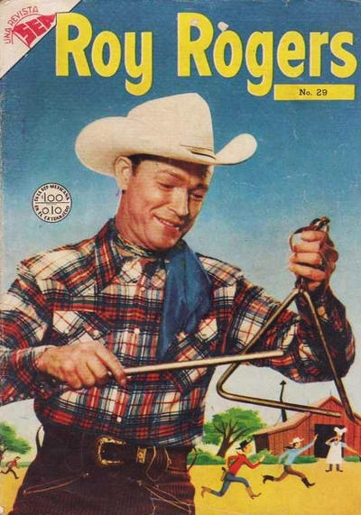 Cover for Roy Rogers (Editorial Novaro, 1952 series) #29