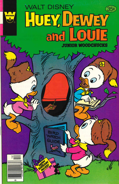 Cover for Walt Disney Huey, Dewey and Louie Junior Woodchucks (Western, 1966 series) #53 [Whitman Edition]