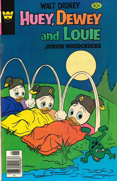 Cover for Walt Disney Huey, Dewey and Louie Junior Woodchucks (Western, 1966 series) #56 [Whitman Edition]