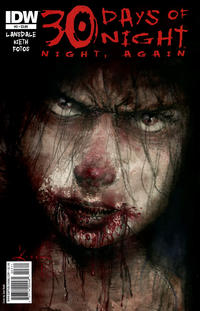 Cover for 30 Days of Night: Night, Again (2011 series) #3 [Cover RI]