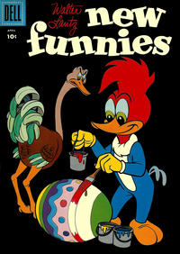 Cover Thumbnail for Walter Lantz New Funnies (Dell, 1946 series) #254 [10¢ edition]