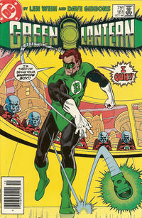 Cover Thumbnail for Green Lantern (DC, 1976 series) #181 [Newsstand]