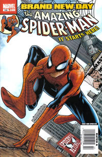 Cover for The Amazing Spider-Man (1999 series) #546 [2nd Print Variant]