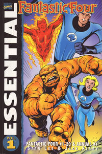 Cover Thumbnail for Essential Fantastic Four (Marvel, 1998 series) #1 [Second Printing]