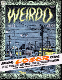 Cover Thumbnail for Weirdo (Last Gasp, 1981 series) #12 [3.95 cover price (unknown printing)]