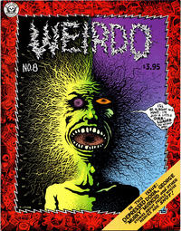 Cover Thumbnail for Weirdo (Last Gasp, 1981 series) #8 [3.95 cover price (unknown printing)]