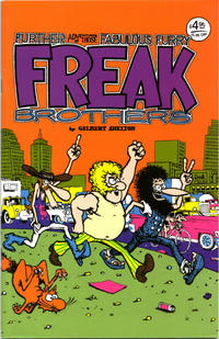 Cover Thumbnail for The Fabulous Furry Freak Brothers (Rip Off Press, 1971 series) #2 [4.95 USD 16th print (c) 2003]