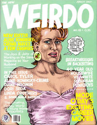 Cover Thumbnail for Weirdo (Last Gasp, 1981 series) #18 [2nd print- 3.95 USD]