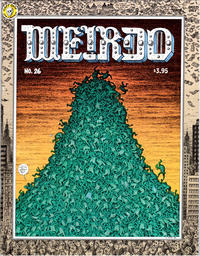Cover Thumbnail for Weirdo (Last Gasp, 1981 series) #26 [2nd printing (3.95 cover price)]