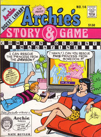Cover Thumbnail for Archie's Story & Game Digest Magazine (Archie, 1986 series) #14 [Direct]