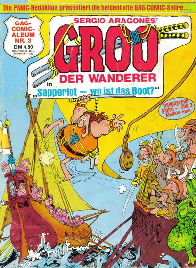 Cover for Groo der Wanderer (Condor, 1984 series) #3