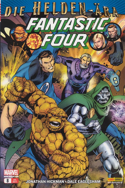 Cover for Fantastic Four (Panini Deutschland, 2009 series) #8