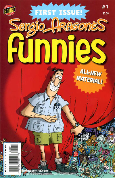Cover for Sergio Aragonés Funnies (Bongo, 2011 series) #1