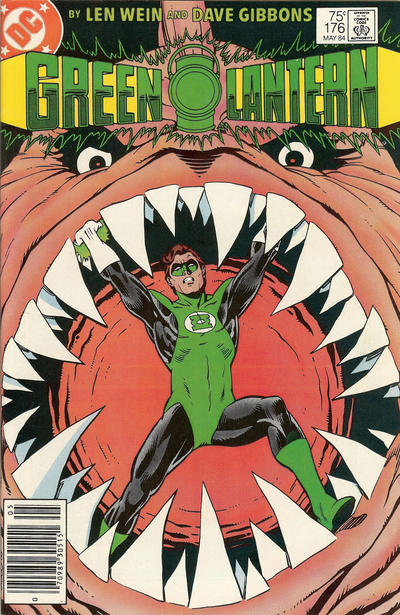 Cover for Green Lantern (1976 series) #176 [Newsstand]