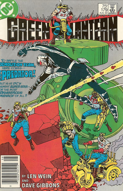 Cover for Green Lantern (DC, 1976 series) #179 [Newsstand]