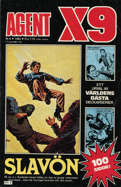 Cover for Agent X9 (1971 series) #6/1982
