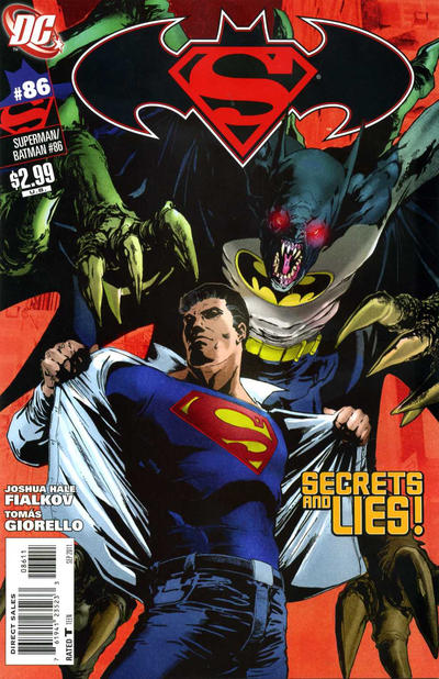 Cover for Superman / Batman (DC, 2003 series) #86