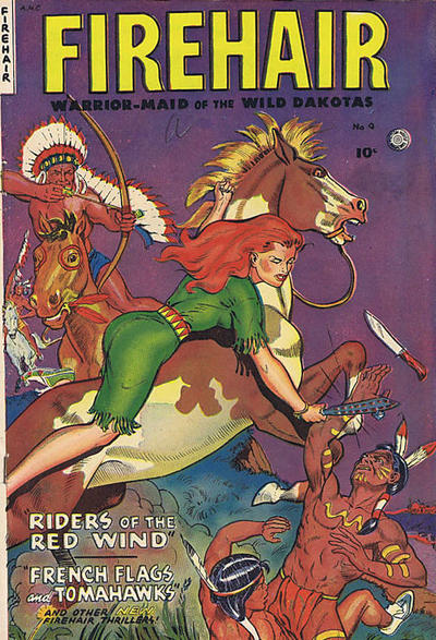 Cover for Firehair (Superior Publishers Limited, 1951 series) #9