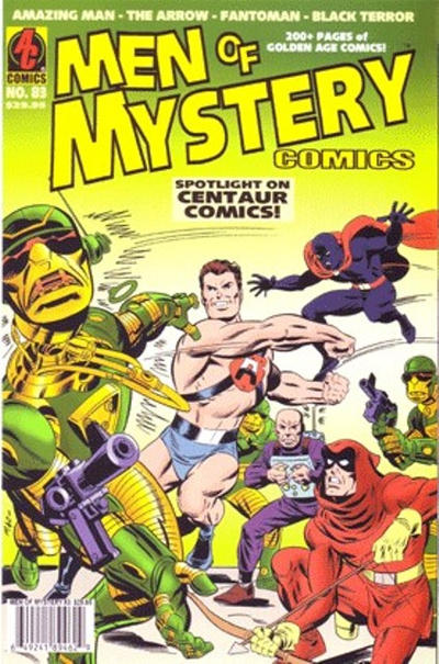 Cover for Men of Mystery Comics (1999 series) #83