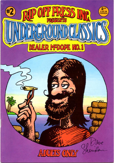 Cover for Underground Classics (1985 series) #2