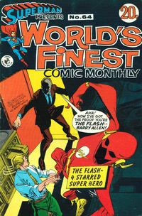 Cover Thumbnail for Superman Presents World's Finest Comic Monthly (K. G. Murray, 1965 series) #64