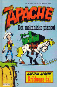 Cover Thumbnail for Apache (Semic, 1980 series) #4/1981