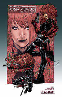 Cover Thumbnail for Anna Mercury (Avatar Press, 2008 series) #1 [SDCC]