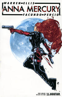 Cover Thumbnail for Anna Mercury (Avatar Press, 2008 series) #5 [Aux]