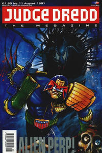 Cover Thumbnail for Judge Dredd the Megazine (Fleetway Publications, 1990 series) #11
