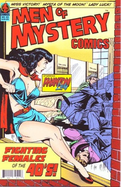 Cover for Men of Mystery Comics (AC, 1999 series) #82