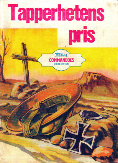 Cover for Commandoes (Fredhøis forlag, 1973 series) #113