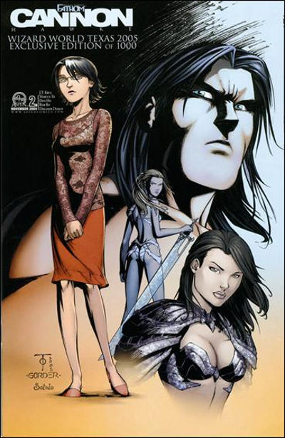 Cover for Michael Turner's Fathom: Cannon Hawke (2004 series) #2 [Cover B]