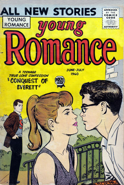 Cover for Young Romance (1947 series) #v13#4 [106]