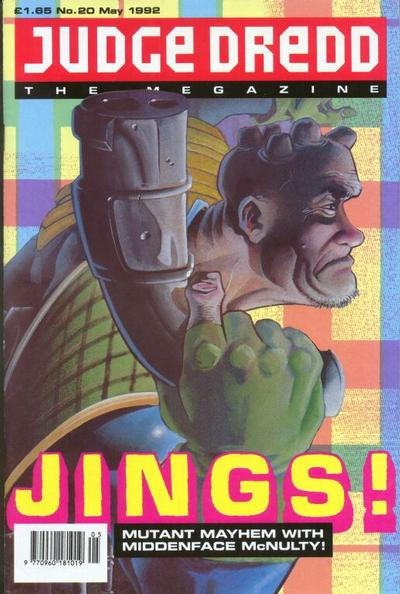 Cover for Judge Dredd the Megazine (1990 series) #20