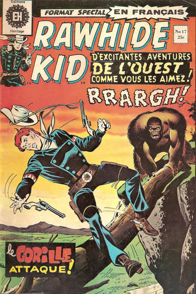 Cover for Rawhide Kid (Editions Héritage, 1970 series) #17