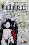 Cover Thumbnail for Brian Pulido's Lady Death: Sacrilege (2006 series) #0 [Prism Foil]