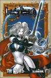 Cover for Lady Death: The Wicked (Avatar Press, 2005 series) #1 [Prism Foil]
