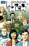 Cover Thumbnail for John Byrne's Next Men (2010 series) #8 [Regular Cover]
