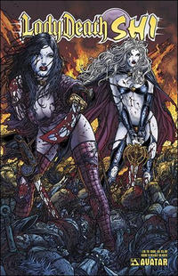 Cover Thumbnail for Lady Death / Shi (Avatar Press, 2007 series) #0 [Deadly Blades]
