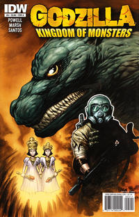 Cover for Godzilla: Kingdom of Monsters (IDW, 2011 series) #5 [Cover RI]