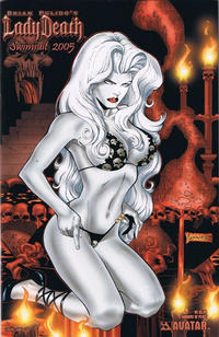 Cover Thumbnail for Brian Pulido's Lady Death: Swimsuit (Avatar Press, 2005 series) #2005 [Moment of Peace]