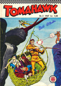 Cover Thumbnail for Tomahawk (Se-Bladene, 1965 series) #3/1967
