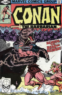 Cover Thumbnail for Conan the Barbarian (Marvel, 1970 series) #110 [Direct Edition]
